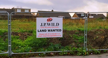 Building Land Wanted
